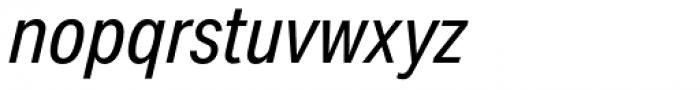 Aktiv Grotesk Cd Italic Font LOWERCASE