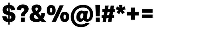 Aktiv Grotesk ExtraBold Font OTHER CHARS