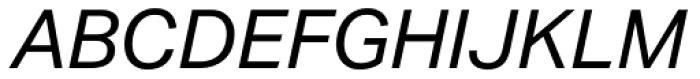 Aktiv Grotesk Italic Font UPPERCASE