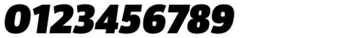 Akwe Pro Black Italic Font OTHER CHARS