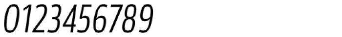 Akwe Pro Con Light Italic Font OTHER CHARS