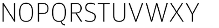 Akwe Pro Extra Light Font UPPERCASE