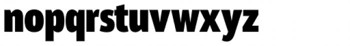 Akwe Pro Nar Extra Bold Font LOWERCASE