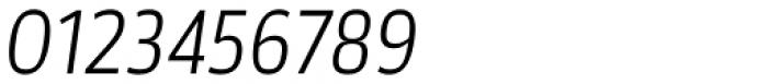Akwe Pro Nar Light Italic Font OTHER CHARS