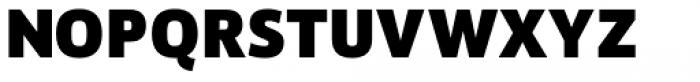 Akwe Pro SC Extra Bold Font LOWERCASE