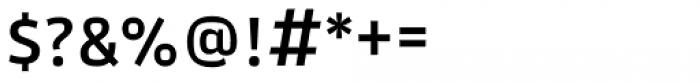 Akwe Pro SC Medium Font OTHER CHARS