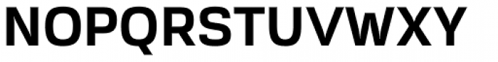 Akzentica 4F Bold Font UPPERCASE