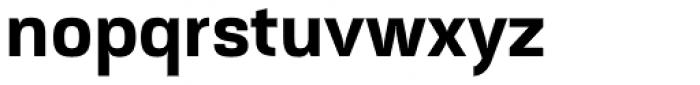 Akzentica 4F Bold Font LOWERCASE