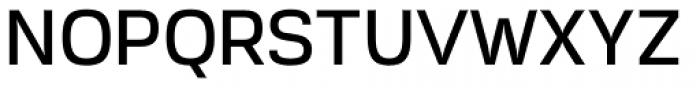 Akzentica 4F Medium Font UPPERCASE