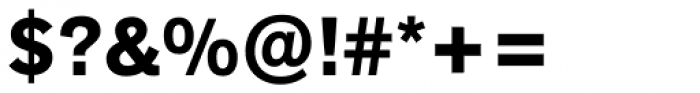 Akzidenz-Grotesk Next Bold Font OTHER CHARS