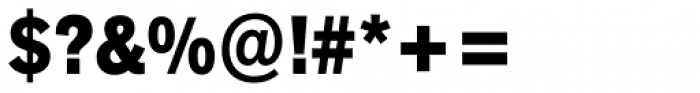 Akzidenz-Grotesk Next Cond ExtraBold Font OTHER CHARS