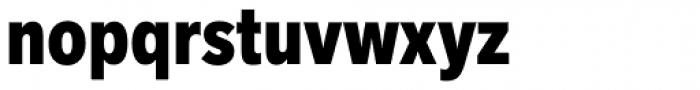 Akzidenz-Grotesk Next Cond ExtraBold Font LOWERCASE