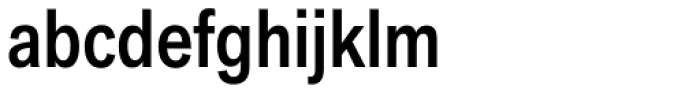 Akzidenz-Grotesk Next Cond Med Font LOWERCASE