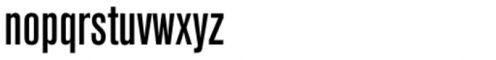 Akzidenz Grotesk Pro Cond Med Font LOWERCASE