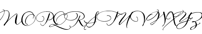 AliceFrancesHmk Font UPPERCASE