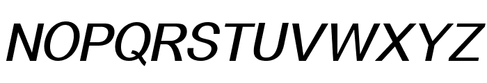 Alido-BoldItalic Font UPPERCASE