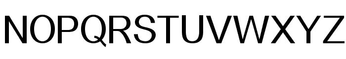Alido Font UPPERCASE