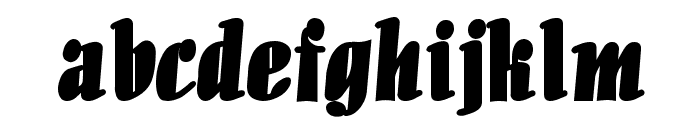 Aloe Bold Font LOWERCASE