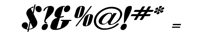 Aloe Extended Italic Font OTHER CHARS
