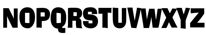 Alor Condensed Bold Font UPPERCASE