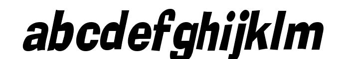 Alor Condensed Italic Font LOWERCASE