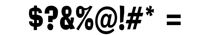 Alor Condensed Normal Font OTHER CHARS