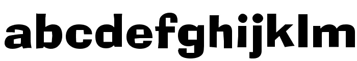 Alor Narrow Bold Font LOWERCASE