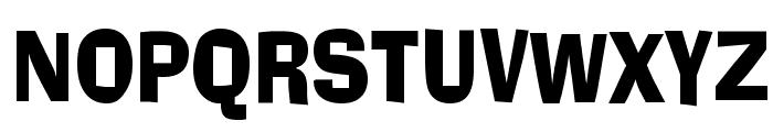 Alor Narrow Condensed Bold Font UPPERCASE