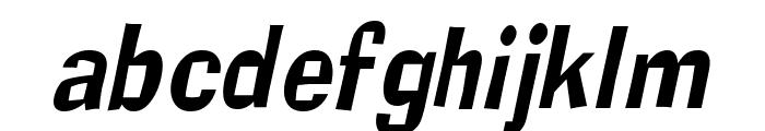 Alor Narrow Condensed Italic Font LOWERCASE