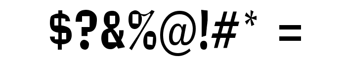 Alor Narrow Condensed Normal Font OTHER CHARS