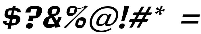 Alor Narrow Italic Font OTHER CHARS