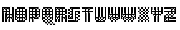 Alterego Big Trap Font UPPERCASE