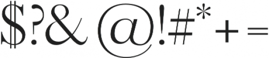 ALQUIMIA Regular otf (400) Font OTHER CHARS