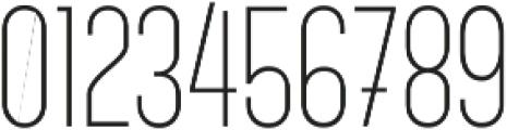 Alabama Light otf (300) Font OTHER CHARS