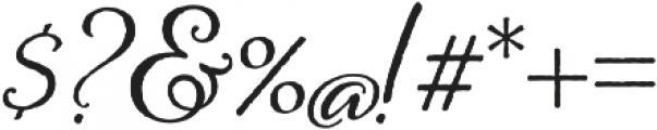 Alana otf (400) Font OTHER CHARS