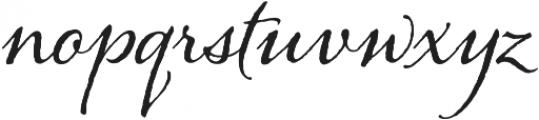 Alana otf (400) Font LOWERCASE
