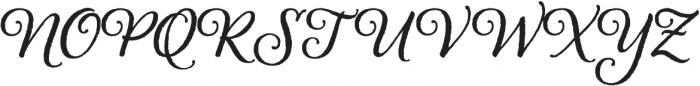 Alana otf (700) Font UPPERCASE