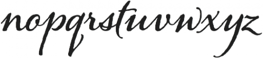 Alana otf (700) Font LOWERCASE