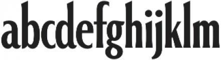Alathena ExtraBold otf (700) Font LOWERCASE