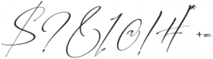 Alberto otf (400) Font OTHER CHARS