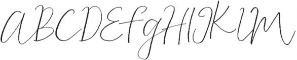 Albino Lovebird Font otf (400) Font UPPERCASE
