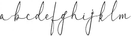 Albino Lovebird Font otf (400) Font LOWERCASE