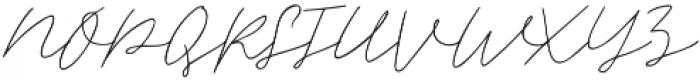 Albiol Regular otf (400) Font UPPERCASE
