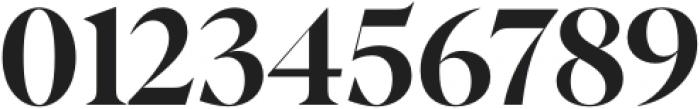 Albra Display Black otf (900) Font OTHER CHARS