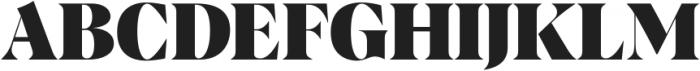 Albra Display Medium otf (500) Font UPPERCASE