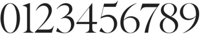 Albra Display Regular otf (400) Font OTHER CHARS
