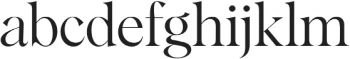 Albra Display Regular otf (400) Font LOWERCASE