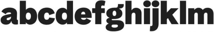 Albra Grotesk Medium otf (500) Font LOWERCASE