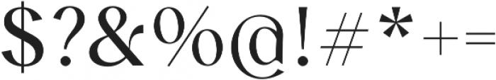 Albra Sans otf (400) Font OTHER CHARS