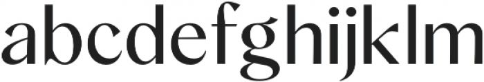 Albra Sans otf (400) Font LOWERCASE